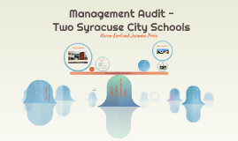 Management Audit for Two Syracuse City Schools