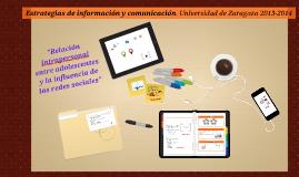 Trabajo estrategias de comunicación 2013