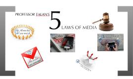 Scott Talan's Laws of Media