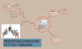 Copy of PERCEPCION,ATRIBUCION,ACTITUD Y DECISION