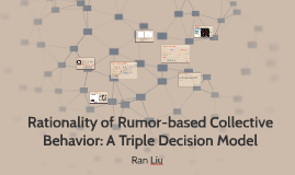 Copy of Rumor Spreading and Collective Behavior