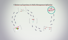 A Bottom-up Experience in Public Management Aplication