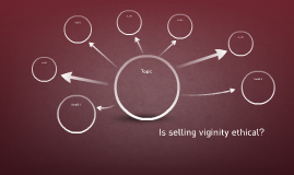 Is selling viginity ethical?