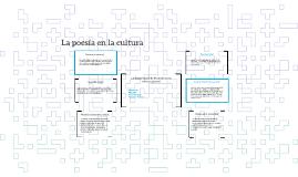 La importancia de la poesía en la cultura general