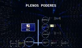 PLENOS PODERES