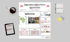 Pequenas empresas na indústria do turismo na Região Central de Gana