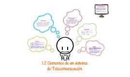 Componentes De un Sistema De Telecomunicacion