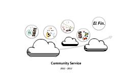 Sophmore Community Service