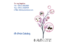 Al-Amin Catalog- Local Products from Palestine