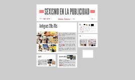 SEXISMO EN LA PUBLICIDAD
