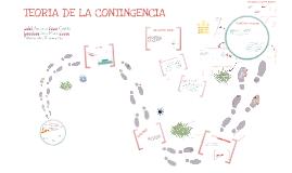 Copy of TEORIA DE LA CONTINGENCIA