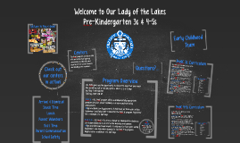 Welcome to Our Lady of the Lakes