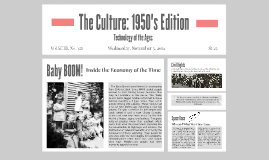 The Culture: 1950's Edition