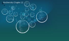 Biodiversity Chapter 22