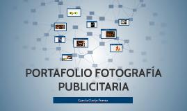 PORTAFOLIO FOTOGRAFÍA PUBLICITARIA