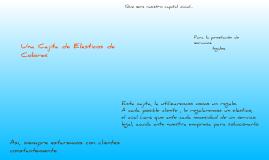 Primer Proyecto: Cajita de Colores