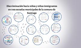 Presentación - Discriminación hacia niños y niñas inmigrantes