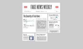 FAKE NEWS WEEKLY