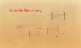 leyes de nuremberg