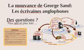 La mouvance de George Sand : Les écrivaines anglophones