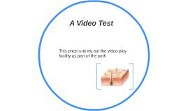 A Video Test