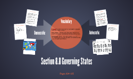 Section 8.8 Governing States