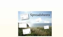 Spreadsheets Starter