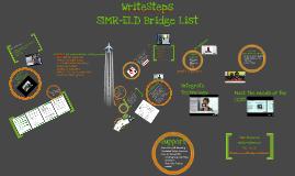 Copy of Shelli's Write Steps Prezi