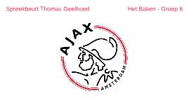 Spreekbeurt Ajax