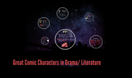 Great Comic Characters in Drama/ Literature