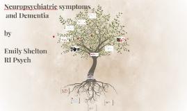 Affective Dysregulation and Dementia