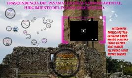 TRASCENDENCIA DEL PANAMA COLONIAL Y DEPARTAMENTAL.