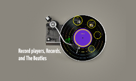 Record players, Records, and The Beatles