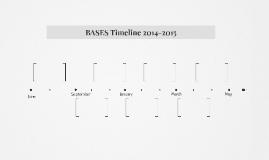 BASES Timeline 2014-2015