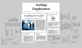 Copy of Seeking Employment