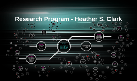 Research Program - Heather S. Clark