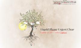 Liquid Plumr Urgent Clear