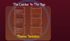 theme comparison of the catcher in Get an answer for 'comparison between life of pi and the catcher in the rye' and find homework help for other the catcher in the rye questions at enotes.