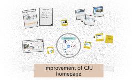 CJU homepage