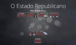 O Estado republicano