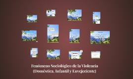 Copy of Fenomeno Sociologico de la violencia