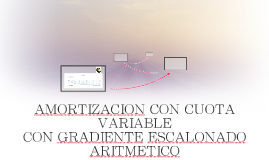 AMORTIZACION CON CUOTA VARIABLE