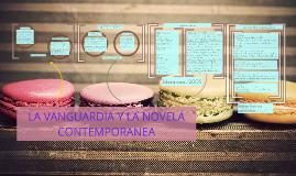 LA VANGUARDIA Y LA NOVELA CONTEMPORANEA