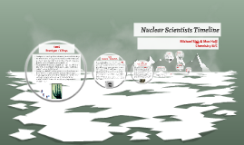 Nuclear Scientists Timeline