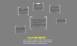 Copy of Copy of La Casa Como Arquetipo