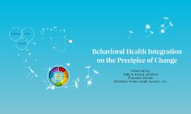 Behavioral Health Integration
