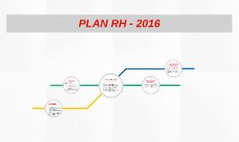 PLAN RH 2016
