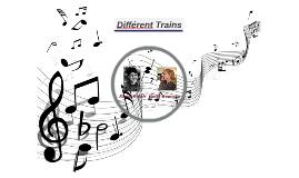 Différent Trains