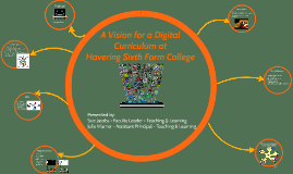 A Vision for a Digital Curriculum