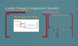 Couples Therapy & Sexuality